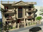 Spacious luxury three story El Narges Villa for sale in New Cairo Egypt